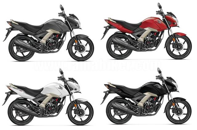 honda cb unicorn 160 colour options