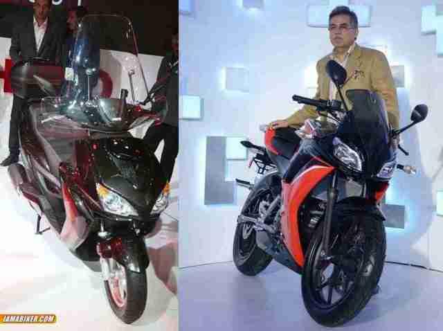 2015 Hero MotoCorp launches