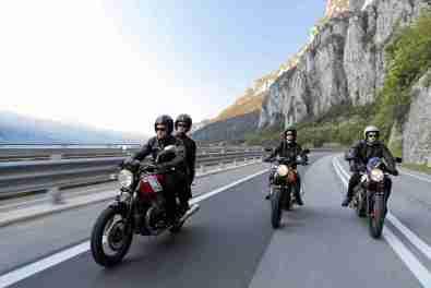 2015 Moto Guzzi V7 II outdoor shot