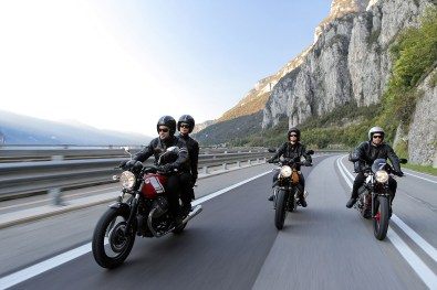 2015 Moto Guzzi V7 II outdoor shot