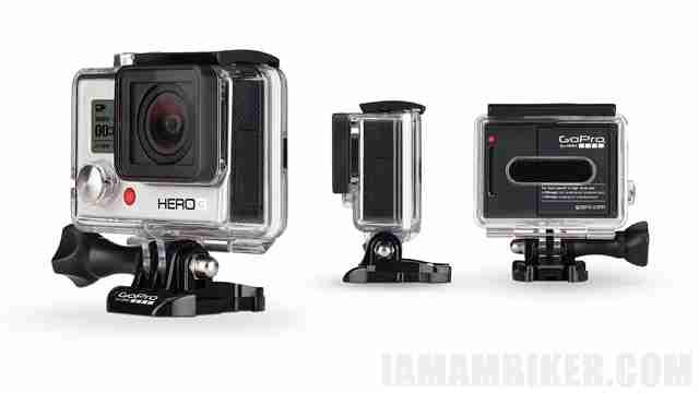 GoPro HERO3 white - action camera