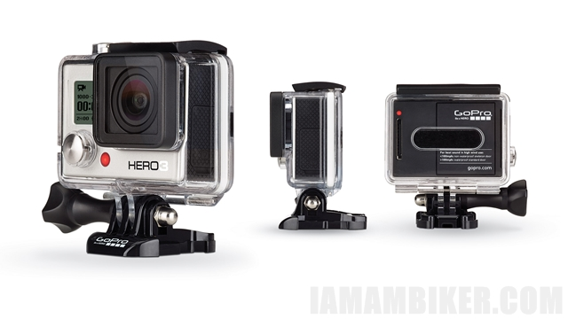 GoPro HERO3 white - action camera
