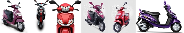 Mahindra scooters India