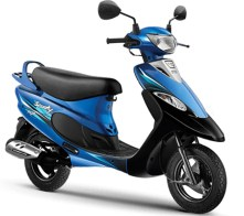 TVS Scooty Pep+ scooter