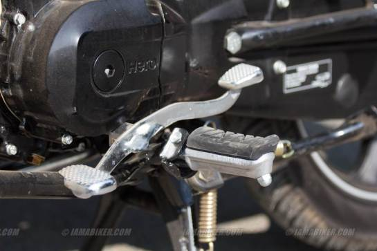 hero splendor ismart gear shifter