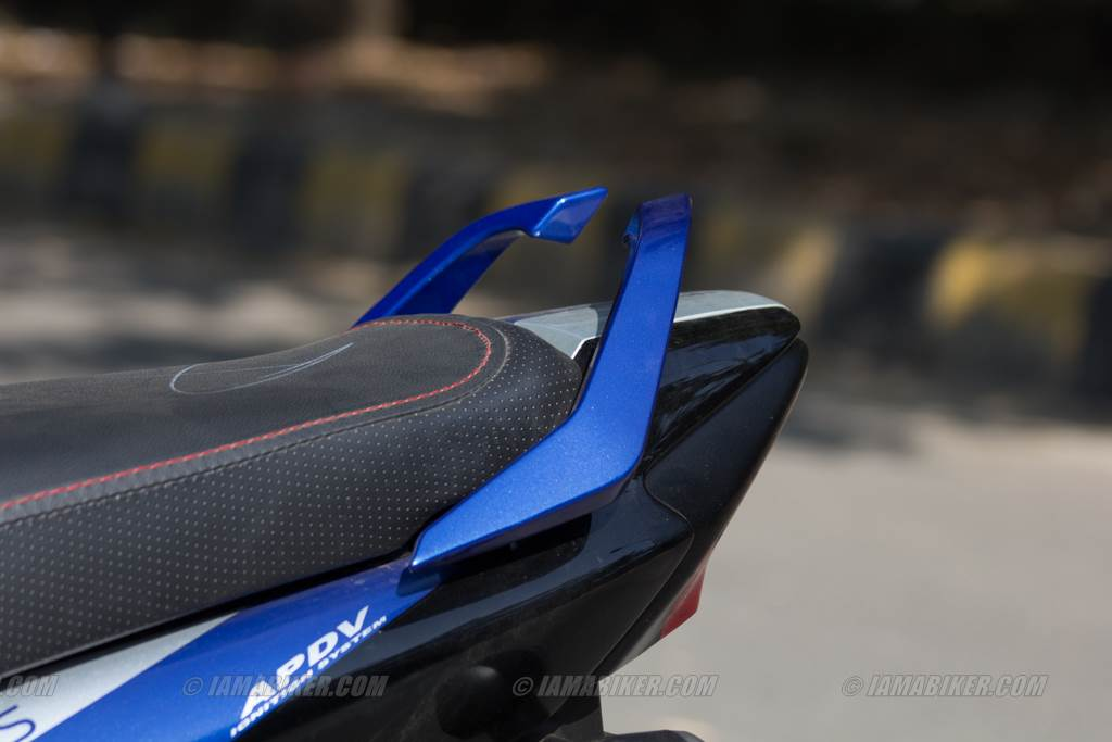 hero splendor ismart pillion grab rails