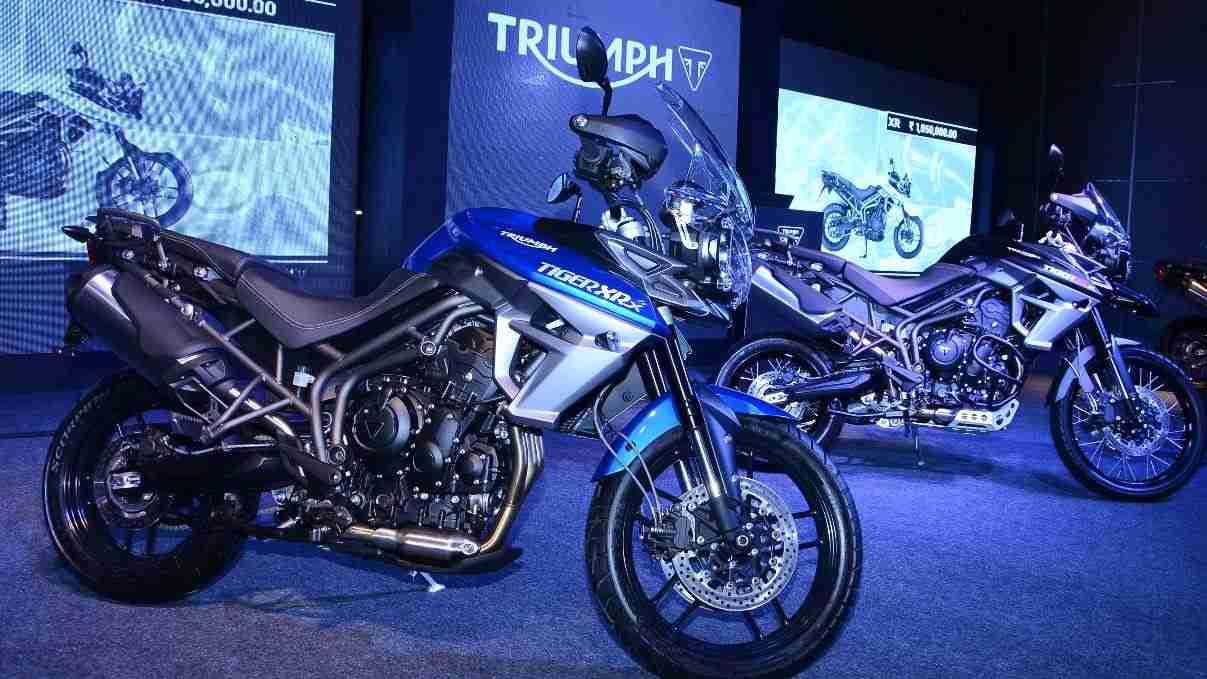 2015 Triumph Tiger 800 XRx India