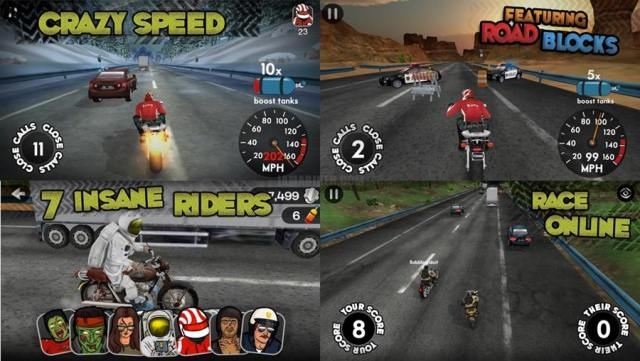 Highway Rider  - best top android motorcycle bike race game