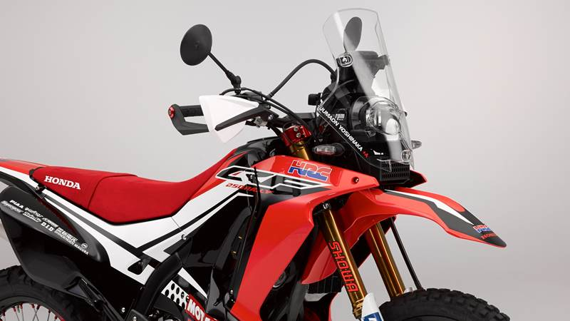 Honda CRF250 Rally concept LED headlight