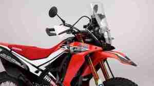 Honda CRF250 Rally concept LED headlight