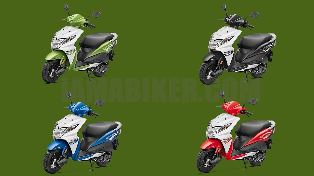 Honda Dio black colour option