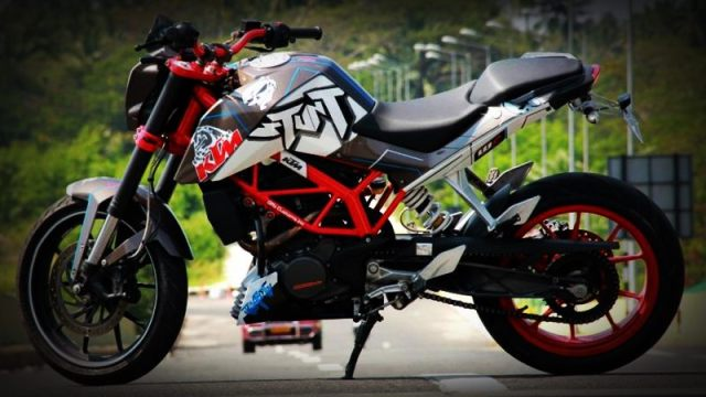 KTM Duke 200 / 390 recommended modifications