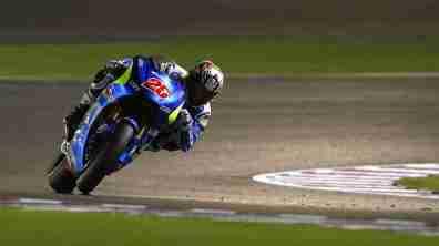 Maverick Vinales Ecstar Suzuki MotoGP Qatar 2015