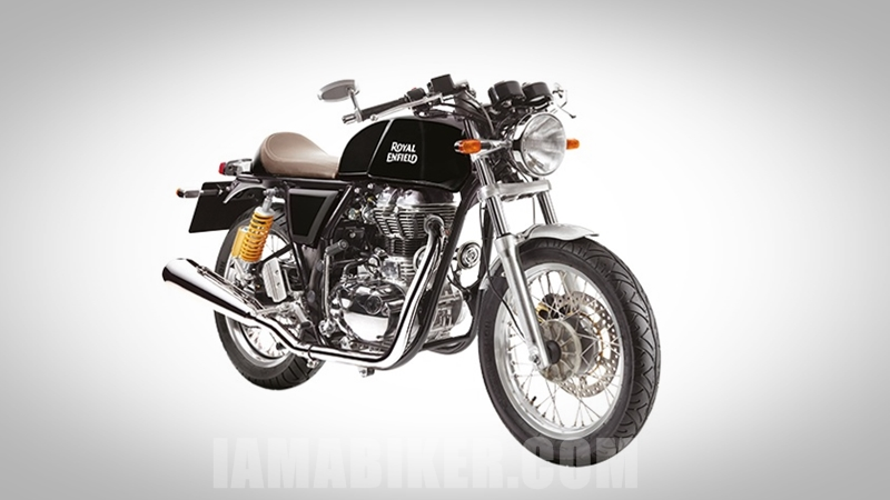Royal Enfield Continental GT Black colour option