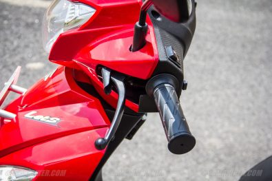 Suzuki Lets scooter back brake with lock