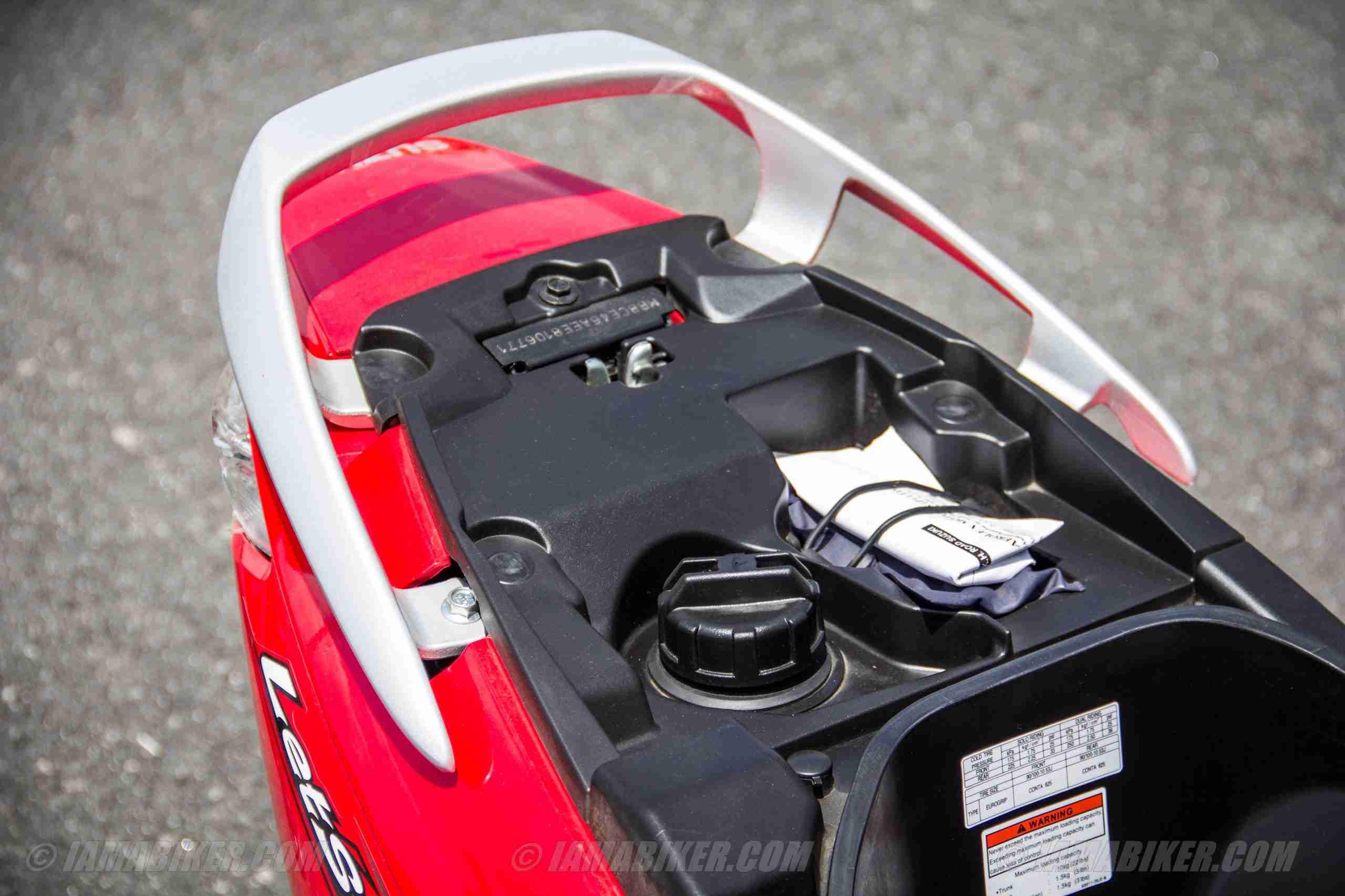 Suzuki Lets scooter petrol tank cap