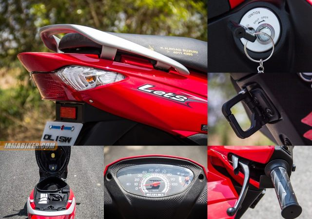 Suzuki Lets accessories and key features