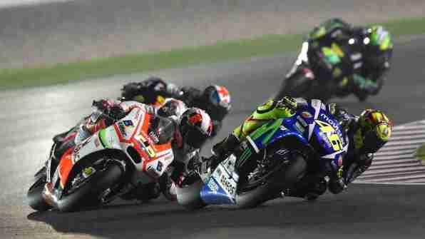 MotoGP HD wallpapers - Qatar 2015 race