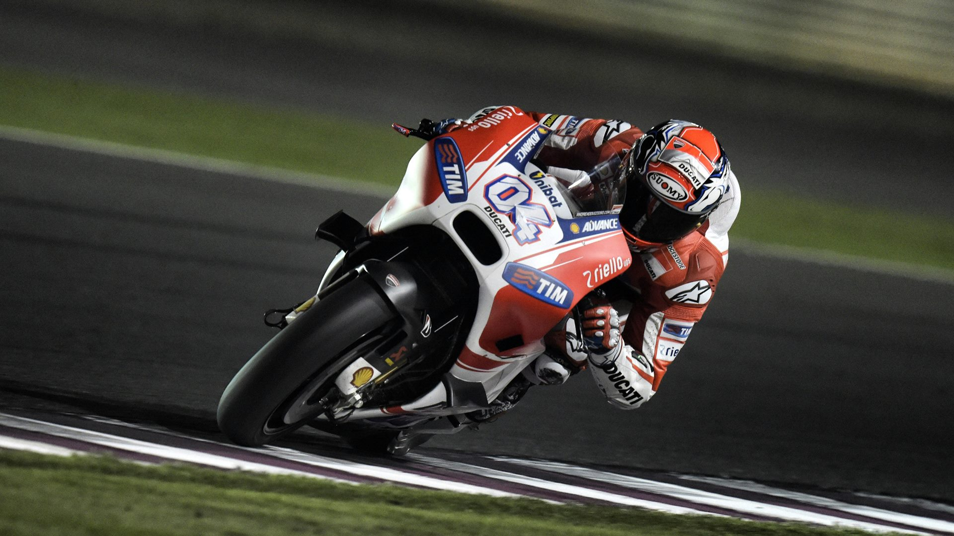 andrea dovizioso ducati with winglets hd wallpaper
