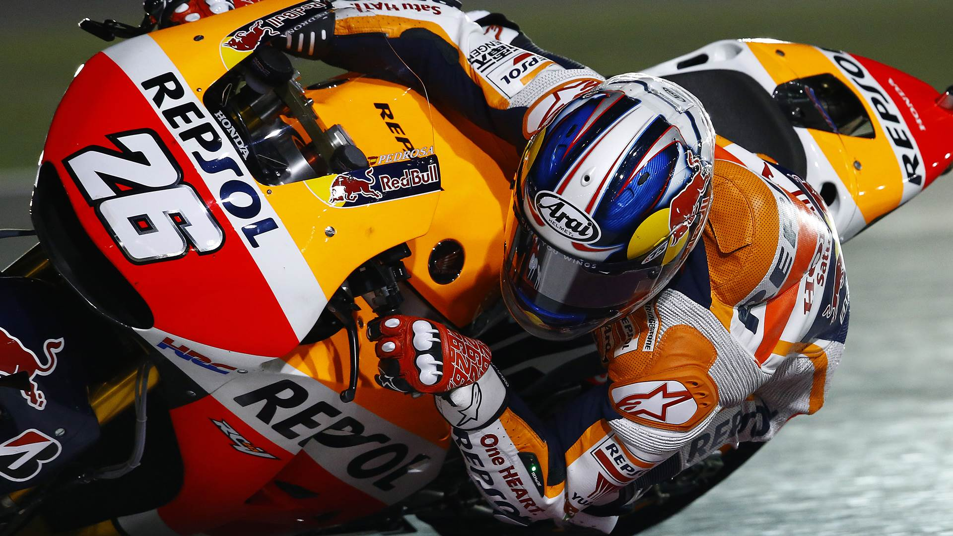 dani pedrosa - hd wallpaper - motogp qatar test 2015