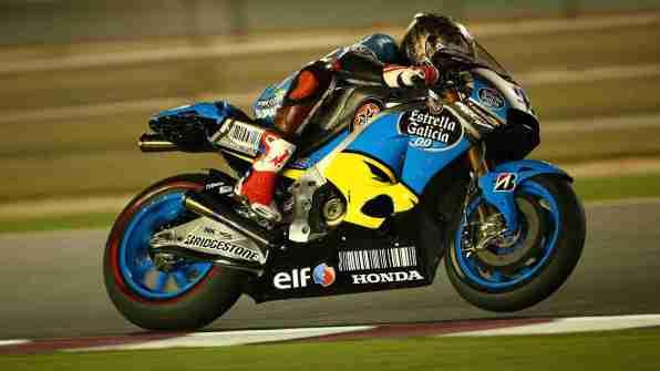 scott redding - estrella galicia - marc vds - motogp qatar test 2015