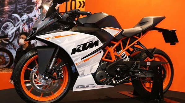KTM RC 250 at Tokyo Motorcyle Show