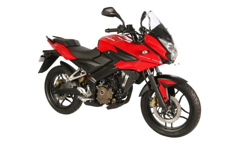 Pulsar AS 200 red colour option
