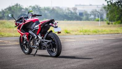 Pulsar RS 200 HD wallpaper red