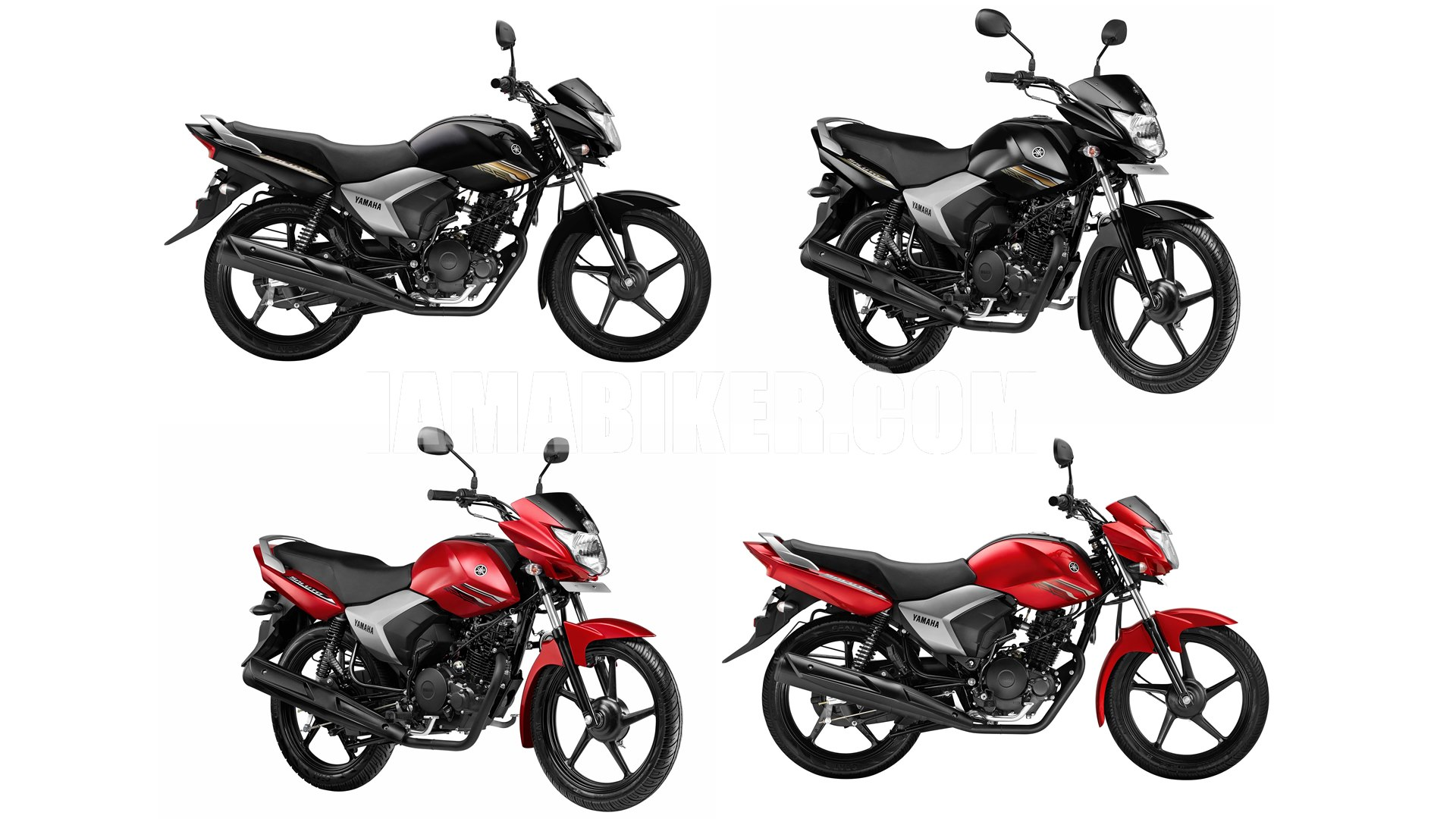 Yamaha Saluto 125 all colour options