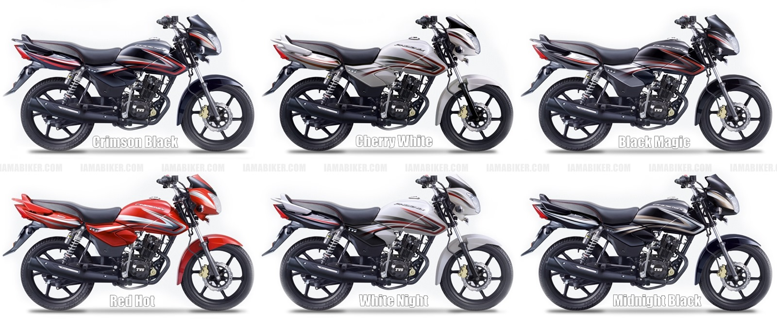 2015 TVS Phoenix 125 all colour options