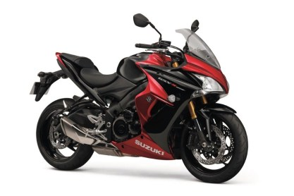 Suzuki GSX-S1000F Candy Red colour option