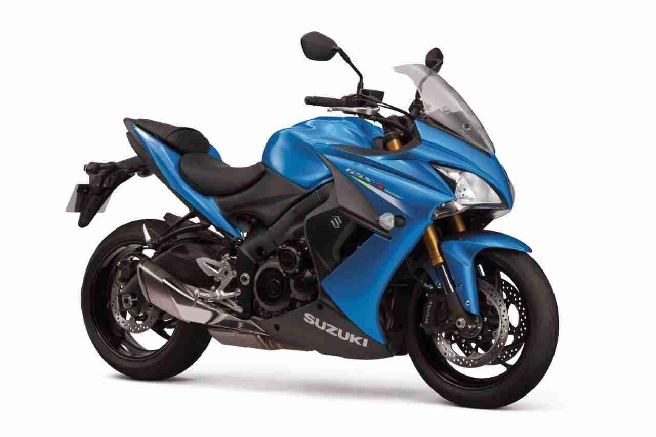 Suzuki GSX-S1000F Metallic Blue colour option