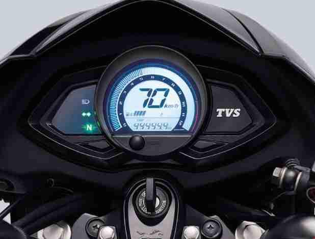 TVS Phoenix 125 digital speedometer