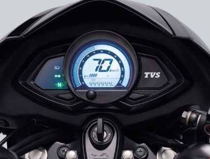 TVS Phoenix 125 digital speedometer