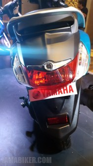 Yamaha Fascino brake light and indicators
