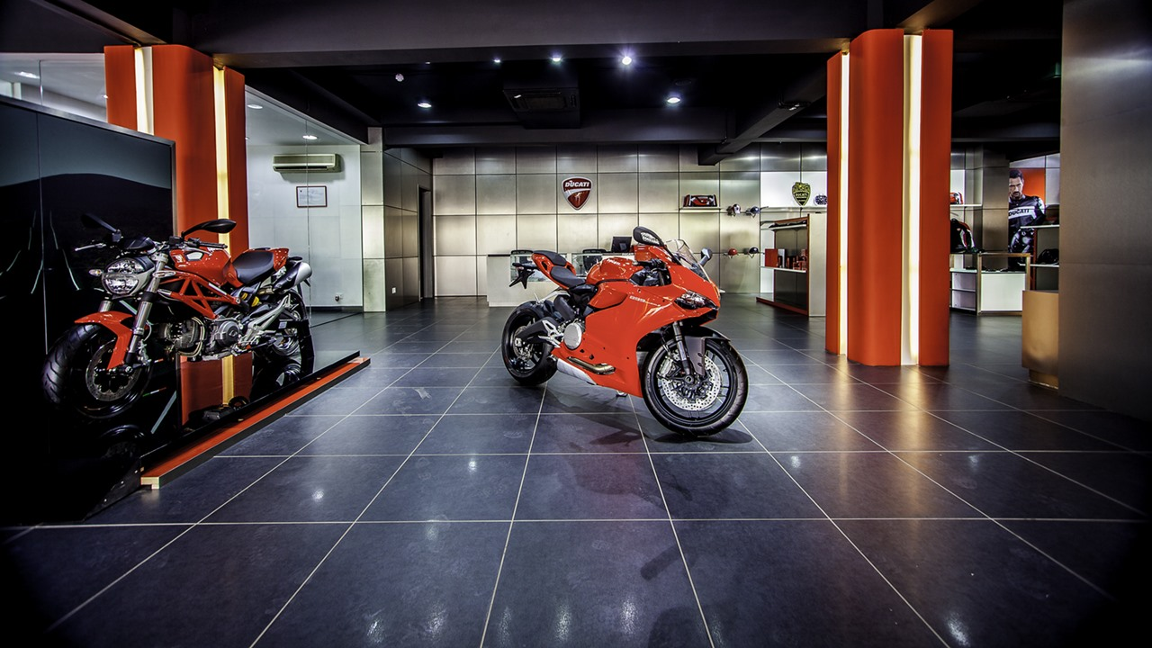 Ducati New Delhi showroom