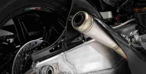 Honda RC213V-S exhaust