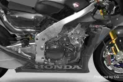 Honda RC213V-S gear box