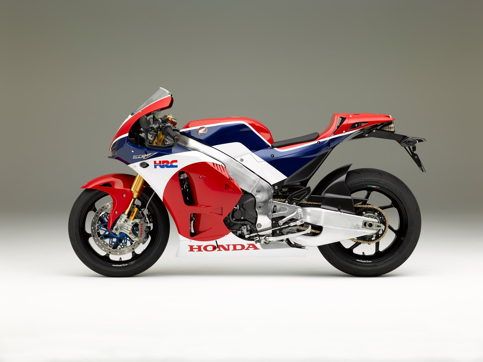 Honda RC213V-S left side view