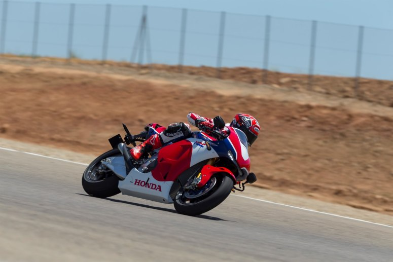 Honda RC213V-S on track
