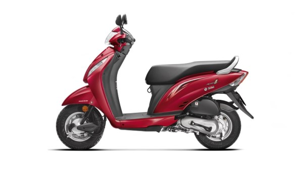 New 2015 Activa i Alpha Red Metallic colour option