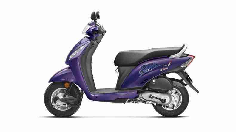 New 2015 Activa i Orchid Purple Metallic colour option