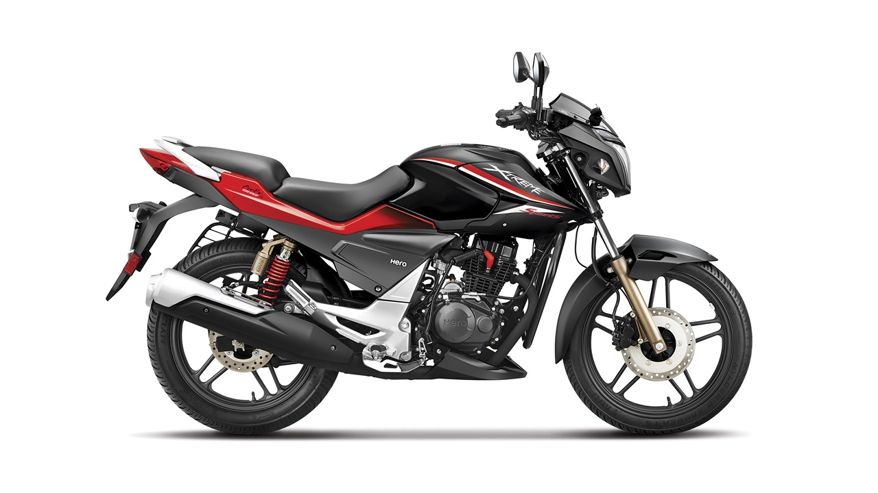 Hero Xtreme Sports Black Red colour option
