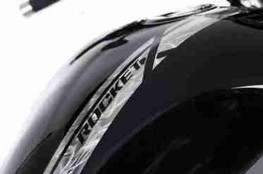 Triumph Rocket X limited edition grinded paint job