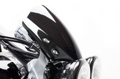 Triumph Rocket X limited edition windshield
