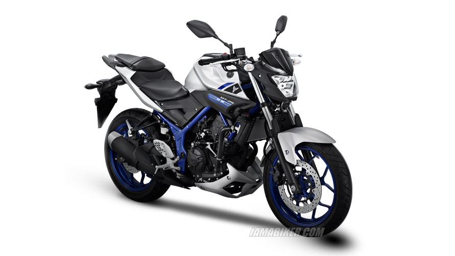 Yamaha MT 25 silver colour option