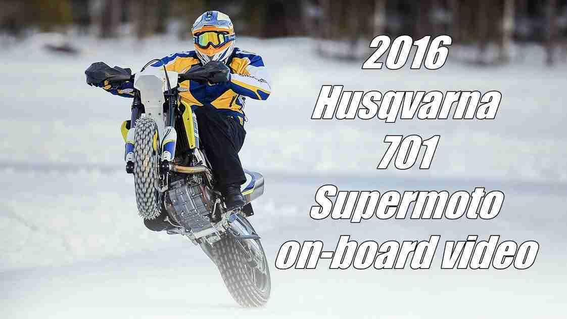 2016 Husqvarna 701 Supermoto