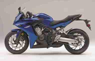Honda CBR 650F India blue colour option