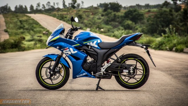Suzuki Gixxer SF review looks, feel and build quality