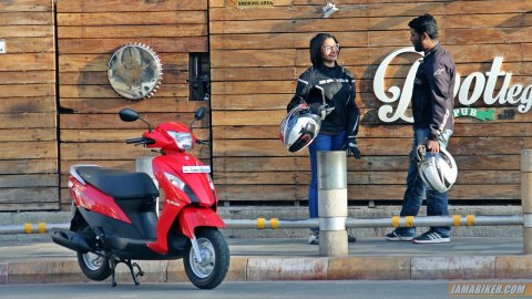 best scooter for women in india